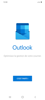 Samsung Galaxy S20 5G - E-mail - 032c. Email wizard - Outlook - Étape 5