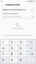Samsung Galaxy A5 (2017) - Android Oreo - Anrufe - Anrufe blockieren - Schritt 7