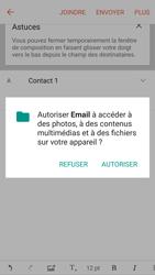 Samsung G930 Galaxy S7 - E-mail - Envoi d