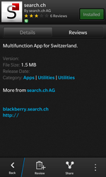 BlackBerry Z10 - Applications - Installing applications - Step 18