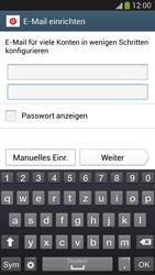 Samsung Galaxy S 4 Active - E-Mail - Manuelle Konfiguration - Schritt 6