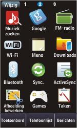 Samsung S5620 Monte - bluetooth - aanzetten - stap 3