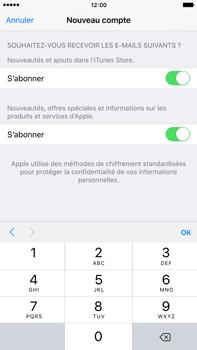 Apple iPhone 6s Plus - Applications - Configuration de votre store d