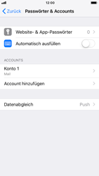 Apple iPhone 7 - iOS 12 - E-Mail - Manuelle Konfiguration - Schritt 15