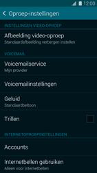 Samsung G900F Galaxy S5 - Voicemail - handmatig instellen - Stap 6