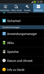 Samsung Galaxy Ace III - Software - Installieren von Software-Updates - Schritt 6