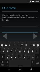 HTC One M8 - Applicazioni - Configurazione del negozio applicazioni - Fase 6