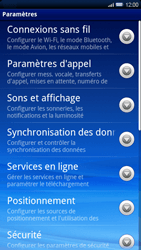 Sony Xperia X10 - Internet - Configuration manuelle - Étape 4