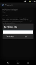 Sony Xperia T - Internet und Datenroaming - Manuelle Konfiguration - Schritt 23