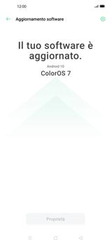 Oppo Find X2 Pro - Software - Installazione degli aggiornamenti software - Fase 6