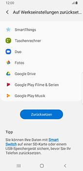 Samsung Galaxy S9 - Fehlerbehebung - Handy zurücksetzen - 9 / 12