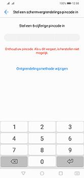 Huawei Y7 (2019) - Beveiliging - stel in of wijzig pincode voor je toestel - Stap 6