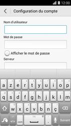 Huawei Ascend Y550 - E-mail - Configuration manuelle - Étape 9