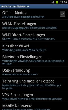 Samsung N7000 Galaxy Note - WLAN - Manuelle Konfiguration - Schritt 5