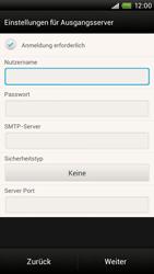 HTC One X - E-Mail - Manuelle Konfiguration - Schritt 13