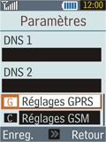 Samsung B2100 Xplorer - Internet - Configuration manuelle - Étape 8