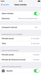 Apple iPhone 6s iOS 10 - Internet - Activar o desactivar la conexión de datos - Paso 4