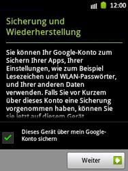 Samsung Galaxy Pocket - Apps - Einrichten des App Stores - Schritt 14