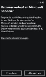 Nokia Lumia 800 / Lumia 900 - Internet und Datenroaming - Verwenden des Internets - Schritt 4
