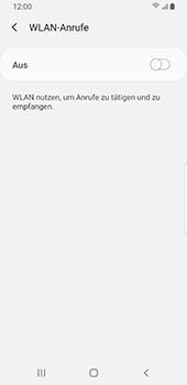 Samsung Galaxy S9 - Android Pie - WiFi - WiFi Calling aktivieren - Schritt 9