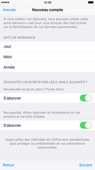 Apple iPhone 6 Plus iOS 9 - Applications - Configuration de votre store d