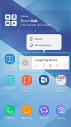 Samsung Galaxy A5 (2017) - Android Nougat - Operazioni iniziali - Installazione di widget e applicazioni nella schermata iniziale - Fase 10