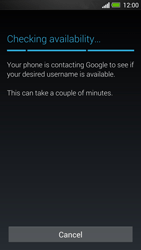 HTC One - Applications - Setting up the application store - Step 7