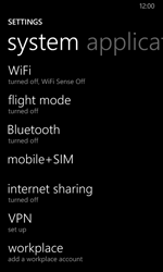 Nokia Lumia 635 - Network - Manually select a network - Step 4