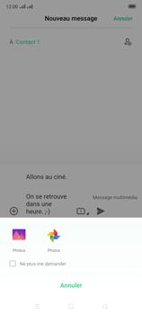 Oppo Reno 2 - Contact, Appels, SMS/MMS - Envoyer un MMS - Étape 17