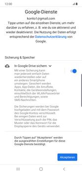 Samsung Galaxy Note 10 Plus 5G - Apps - Einrichten des App Stores - Schritt 18
