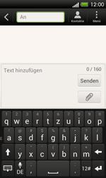 HTC One SV - MMS - Erstellen und senden - 0 / 0