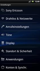 Sony Ericsson Xperia X10 - Ausland - Im Ausland surfen – Datenroaming - Schritt 6