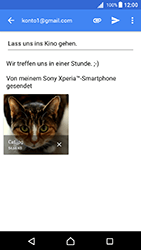 Sony Xperia X - E-Mail - E-Mail versenden - 16 / 18