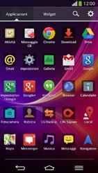 LG D955 G Flex - Applicazioni - Come disinstallare un