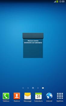 Samsung Galaxy Tab 3 8-0 LTE - Operazioni iniziali - Installazione di widget e applicazioni nella schermata iniziale - Fase 9