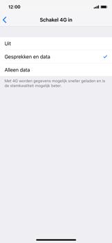 Apple iPhone X - iOS 12 - 4G instellen  - Toestel instellen voor 4G - Stap 7