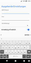 Sony Xperia XZ2 Compact - E-Mail - Konto einrichten - Schritt 16
