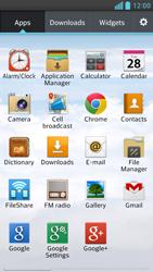 LG D505 Optimus F6 - E-mail - Sending emails - Step 3