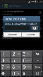 Samsung I9301i Galaxy S III Neo - Anrufe - Rufumleitungen setzen und löschen - Schritt 10