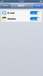 Apple iPhone 5 - E-mail - Handmatig instellen - Stap 12