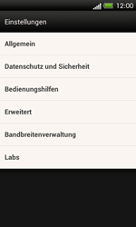 HTC One SV - Internet - Apn-Einstellungen - 20 / 25