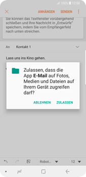 Samsung Galaxy S9 - E-Mail - E-Mail versenden - 2 / 2
