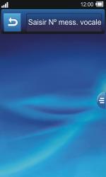 Sony TXT Pro - Messagerie vocale - Configuration manuelle - Étape 6