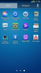 Samsung Galaxy S 4 LTE - Applications - How to uninstall an app - Step 3