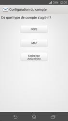 Sony Xperia Z3 - E-mail - configuration manuelle - Étape 7