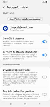 Samsung Galaxy A10 - Appareil - configurer Localiser mon appareil - Étape 8