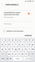 Samsung G920F Galaxy S6 - Android Nougat - E-mail - Configuration manuelle - Étape 12