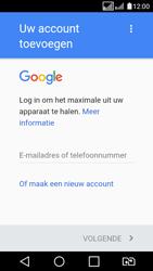 LG K4 (2017) (M160) - Applicaties - Account aanmaken - Stap 3