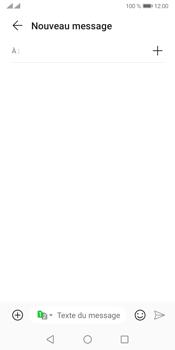Huawei Y5P - Contact, Appels, SMS/MMS - Envoyer un MMS - Étape 4