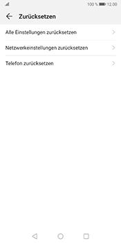 Huawei Mate 10 Pro - Android Pie - Fehlerbehebung - Handy zurücksetzen - Schritt 7